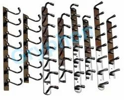 Hanging Type Stainless Steel Wall Hanger, For Cloth Hanging