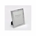 Groovy Design Silver Photo Frame, Color-Silver, Size-8x10