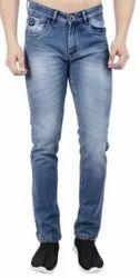 Regular Fit Party Wear Mens Stretch Denim Jeans
