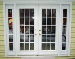 Fabricated Brown French Doors, For Home, Size/Dimension: Depend