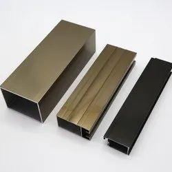 Flat Aluminium Anodized Aluminum Section