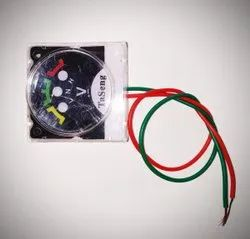 Single Phase Manual Volt Meter Wire, For Agriculture, Voltage: 500 V AC