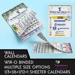 6-7 Days Paper Calendar Printing Services