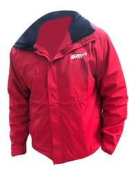 Full Sleeve Men Red Woolen Jacket, Size: Large