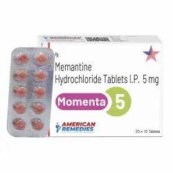 5 mg Memantine Hydrochloride Tablets