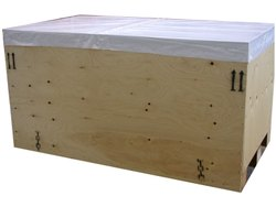 Brown Square Wooden Packaging Box, For Storage