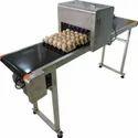 Colored Touch Screen Six-Head Egg Jet Printer Model IJP - EGG-19B