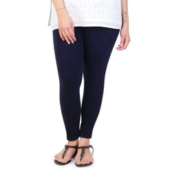 POS 180 Gsm Cotton Lycra Ankle Length Leggings, Size: Free Size