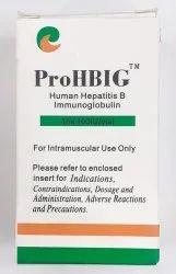 Human Hepatitis B Immunoglobulin 100IU (PROHBIG), 1 Ml, Prescription