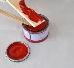 High Gloss Red Synthetic Paint, Packaging Type: Can, Packaging Size: 500ml