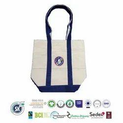 Organic Canvas Shopping Bag For Women