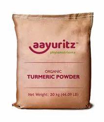 Unpolished Curcuma Longa Organic Turmeric Powder, For Spices