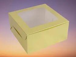 Cardboard Square Brown Duplex Box, For Food