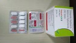 Glimepiride 2 Mg+ Metformin 500 + Voglibose 0.3 Mg