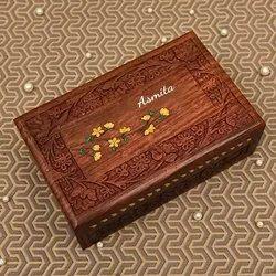 AIJAZ Rectangle Jewellery Box, For Home