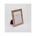 Rose Gold Fluted Design Photo Frame, Color-Rose Gold, Size-6X8