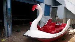 FRP Swan Paddle Boat