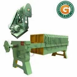 Cotton Seed Oil Filter Press Machine