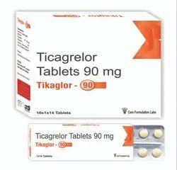 Ticagrelor 90 Mg Tikaglor-90