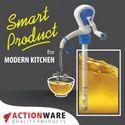 Plastic Manual Hand Oil Pump Kitchen Utensils