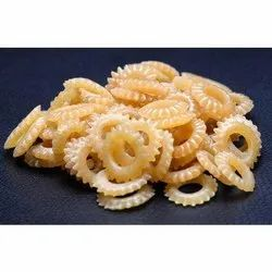Round Eatable Gear Ring Snacks, Packaging Size: 30 Kg