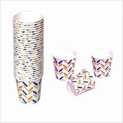 Petals Multicolor Paper Cups - 210 Ml, For Event and Party Supplies, Packet Size: 100