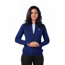 Full Sleeve polyester with spandex Women Jacket