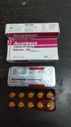 Acarbose 50mg Tab