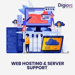 Web Hosting And Server Support Service