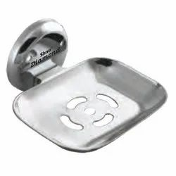 Square CP Soap Dish Without Flange