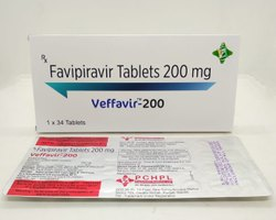 Veffavir-200 Favipiravir 200 Mg Tablets