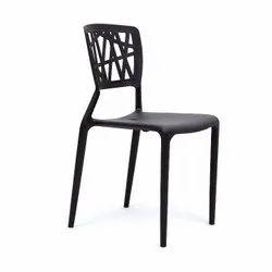 Black Soft PVC Chairs