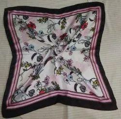 Satin printed Square bandana