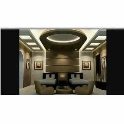 Kame Multicolor Fancy POP Ceiling, Thickness: 8 mm