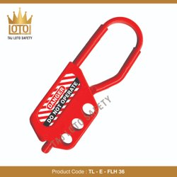 Red TL - E - FLH 36 Electric - Flexible Lockout Hasp - 36, Electrical Purpose