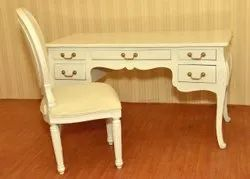 Drawer Table with Chair