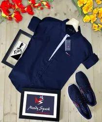 Moody Spark Full Sleeve Shirt Formal Shirts, 18-30