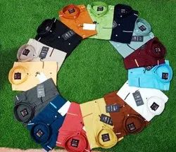 Fashion Aex Cotton Twill Formal Shirt For Men, Machine wash