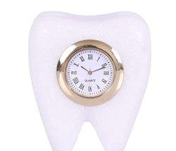 White Marble Teeth Watch