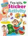 Fun With Sticker Activity 4 Different Books