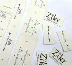 Printed Cloth Labels
