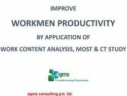 Workmen Productivity Improvement, Location: Pan India