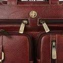 Hammonds Flycatcher Original Bombay Brown Leather 15.6 inch Laptop Messenger Bag