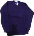 Vp Oswal Winter Blue Full Sleeve Uniform Woolen Sweater