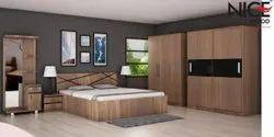 BLACK ZIG BEDROOM SET