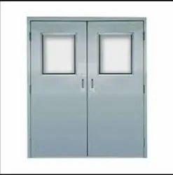 White Hinged Acoustic Doors