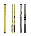 Aluminum Leveling Staff 4 Meter , 5 Meter , 6 Meter