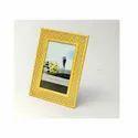 Crystal Studded Silver Photo Frame ( Golden )