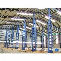 A Type Industrial Shed Fabrication