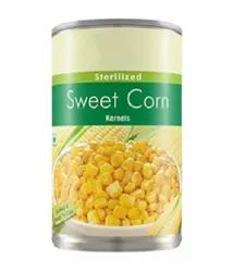Canned Sweet Corn, 400GM, Packaging Type: Tin